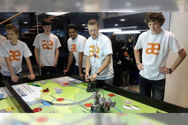 Junge Roboterkonstrukteure gewinnen Preise