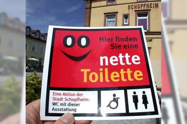 Nette Toilette - öffentliche WCs in sieben Gastronomiebetrieben