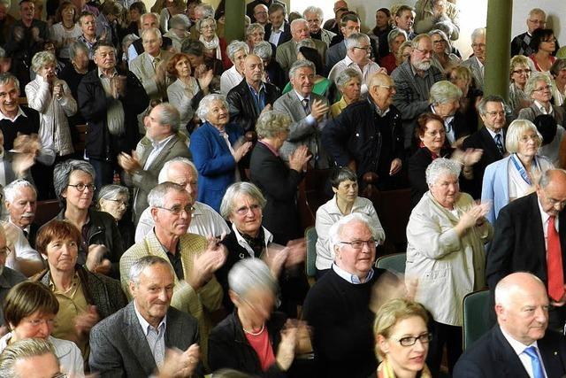 Begeisterte Zuhörer