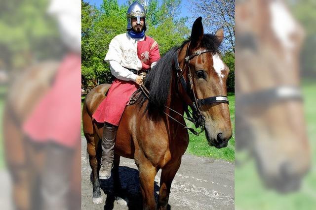 Ritter und Ross auf Reisen