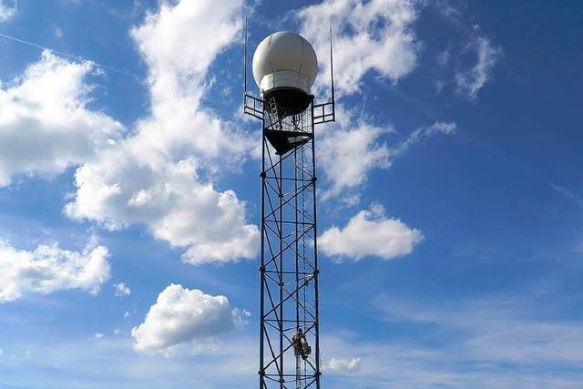 Neuer Turm auf dem Feldberg: Wetterradar auf Zeit