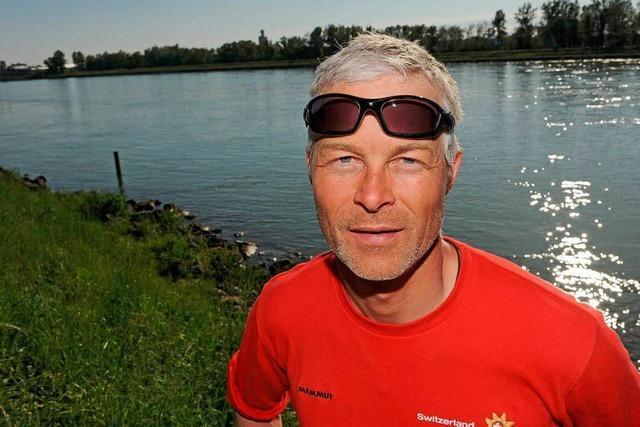 Rheinschwimmer Bromeis gibt in Breisach auf