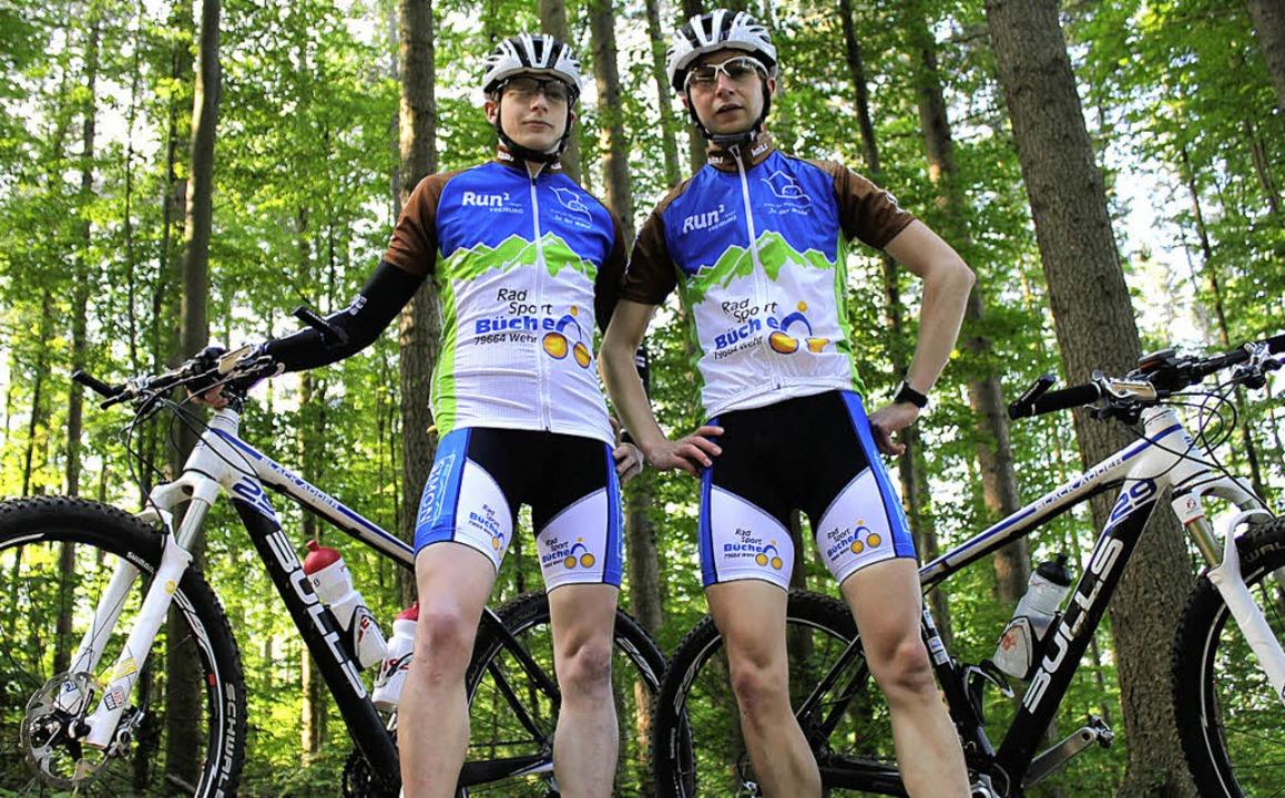 Die Transalp kann Christopher und Tobi...-Stunden-Rennen auf dem  Mountainbike.  | Foto: BZ