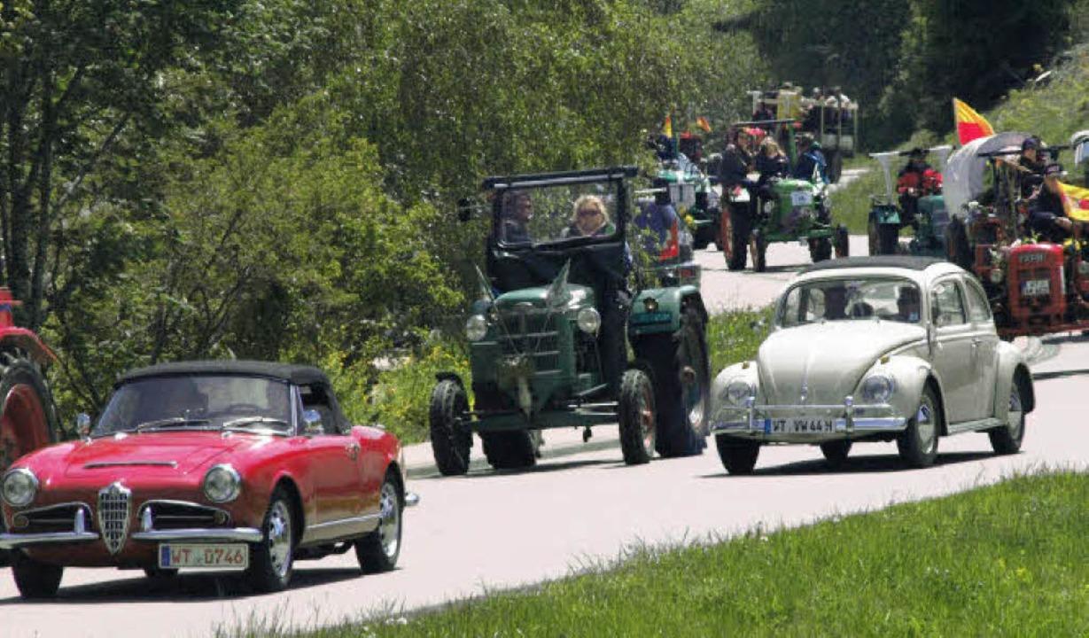 Die Bandbreite der teilnehmenden Oldies war riesig  | Foto: Karin Stöckl-Steinebrunner