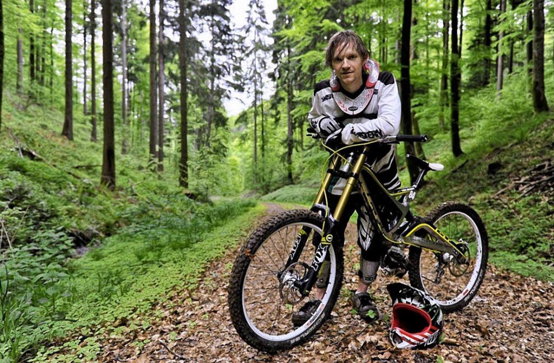 René Schmidt beim Training   | Foto: Manfred Huchler