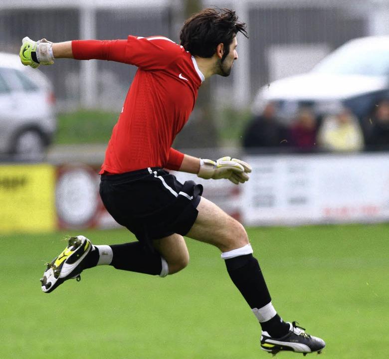 Daniele Napolitano hielt den SCK mehrfach im Spiel.   | Foto: Archiv: Peter Aukthun