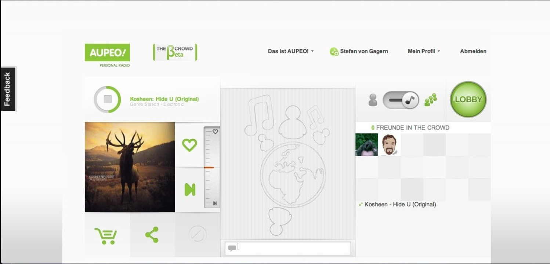 Aupedo: Crowd - Die Crowd-Funktion sol... und bindet Facebook an den Dienst an.    Foto: IDG