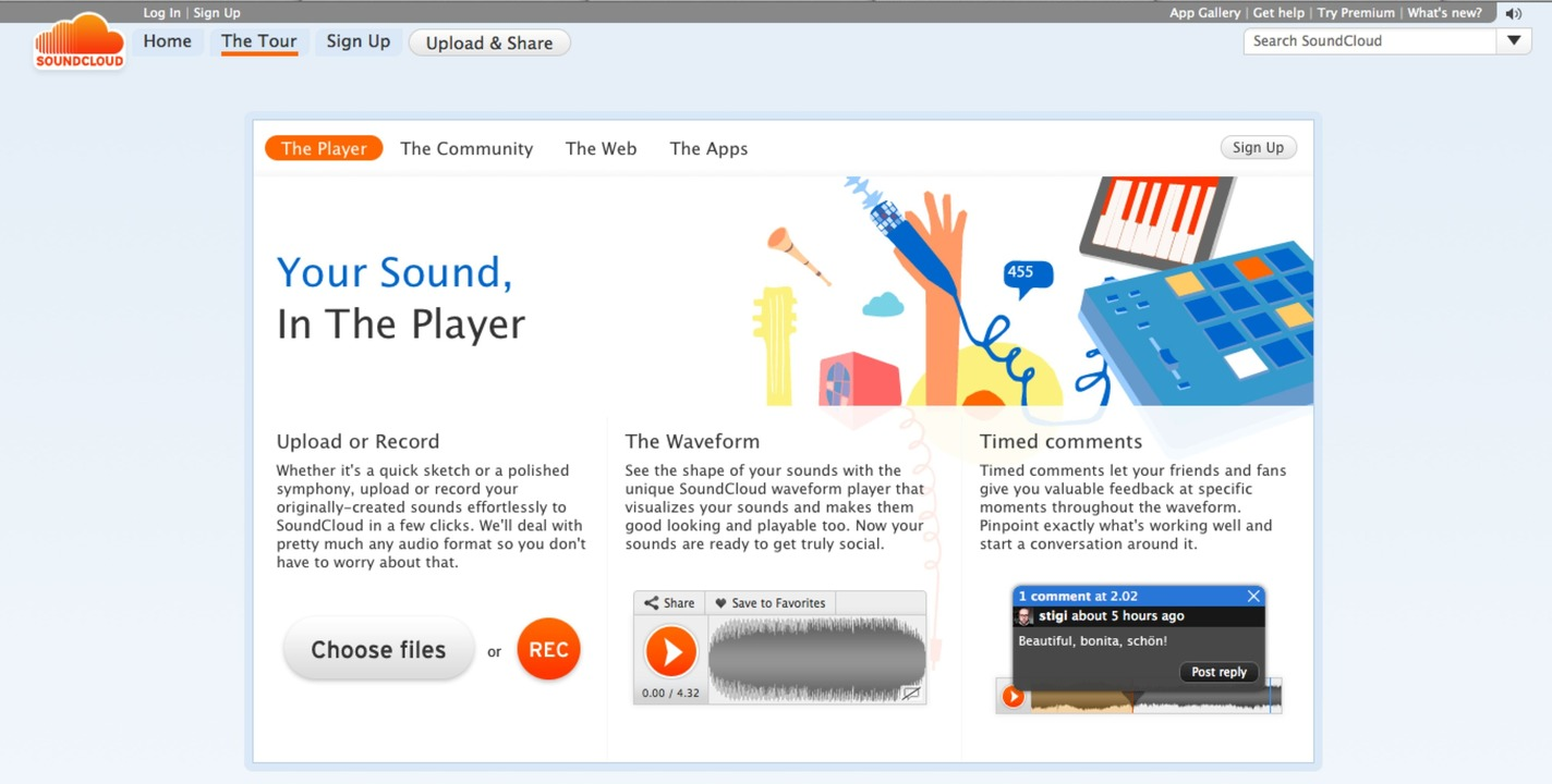 Soundcloud: Guided Tour - Die gut gema... machen Spaß und helfen beim Einstieg.    Foto: IDG