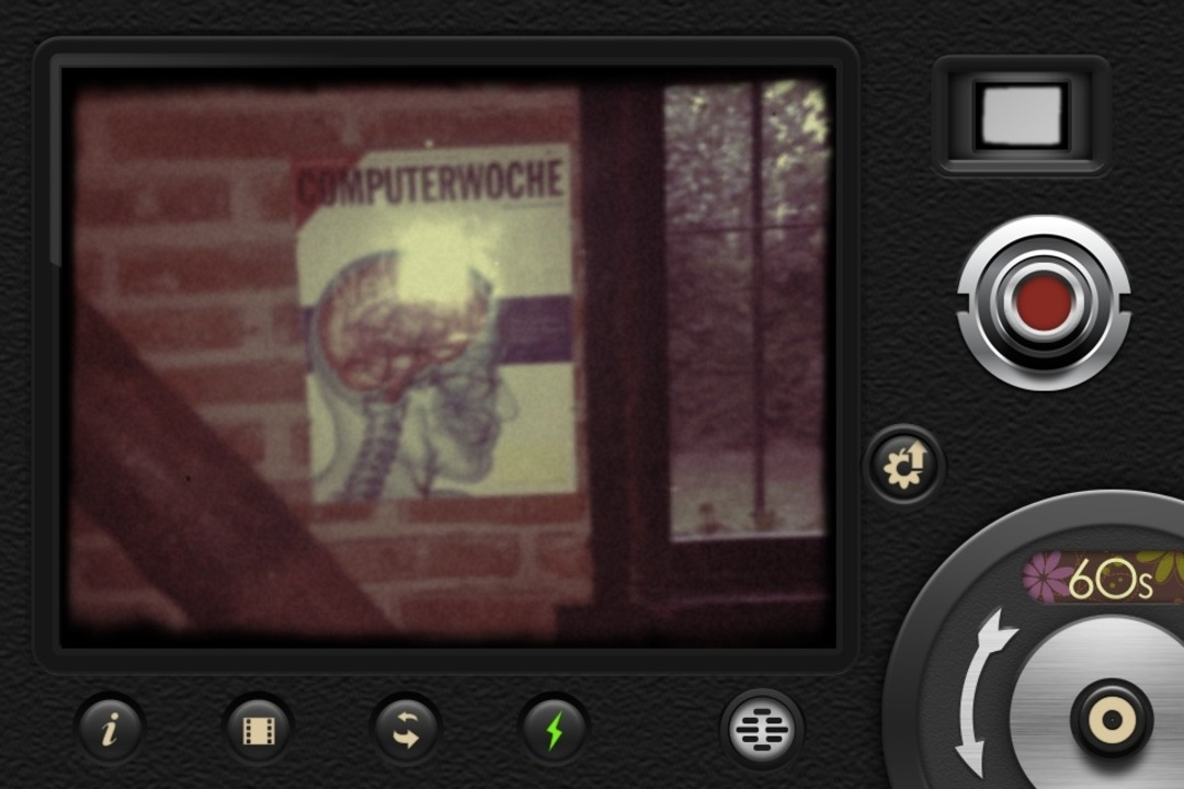 8mm Vintage Camera - Retro ist stark a...iPhone-User Retro-Filme selber drehen.    Foto: IDG