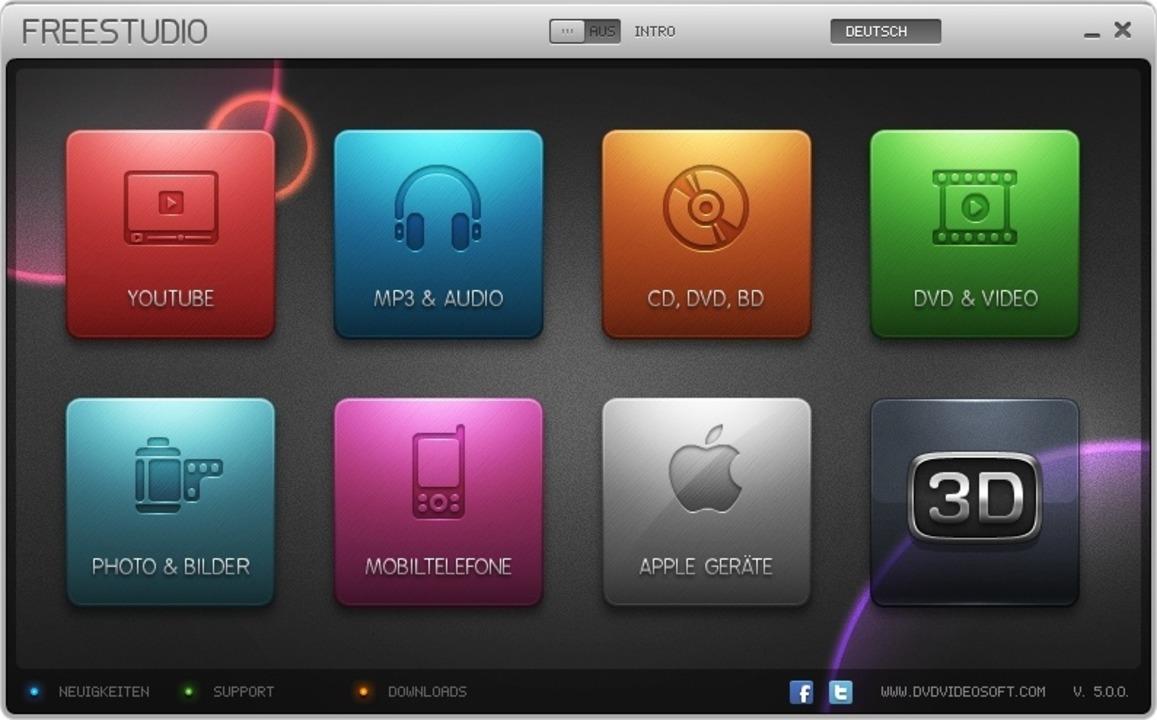 """Free Studio - Beim """"Free Studio&...t mit rund 47 einzelnen Video-Helfern.    Foto: IDG"""