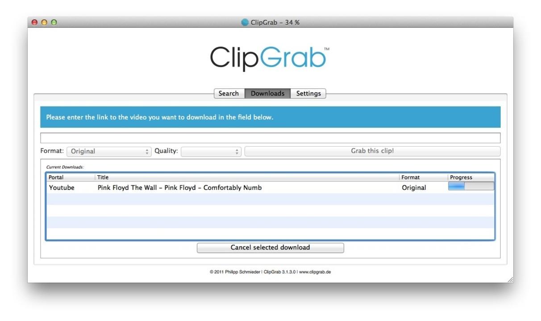 ClipGrab - Das Angebot an Gratis-Tools...für Windows, Mac und Linux erhältlich.    Foto: IDG