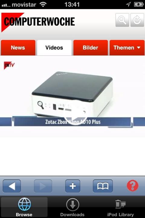 """Video Downloader - Der """"Video-Do...be und Vimeo leider nicht unterstützt.    Foto: IDG"""