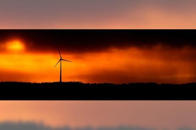 Schritt Richtung Windkraft