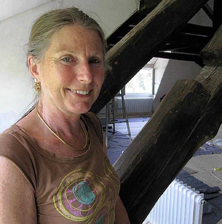 Sabine Kühner eröffnet am Montag, 28. ...yengar-Yogazentrum in Todtmoos-Rütte.   | Foto: Susanne Filz