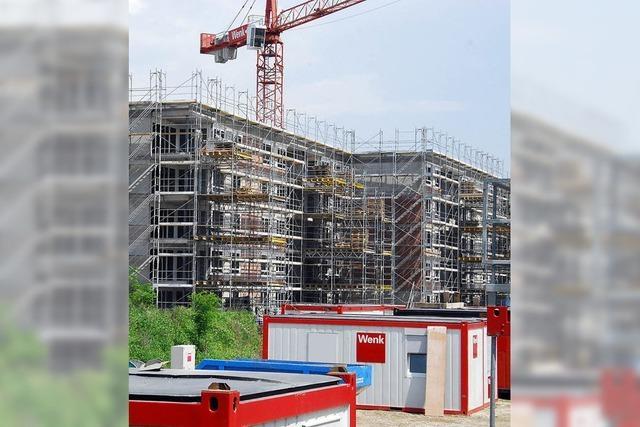 Schweizer Rheinfelden erlebt einen Bauboom