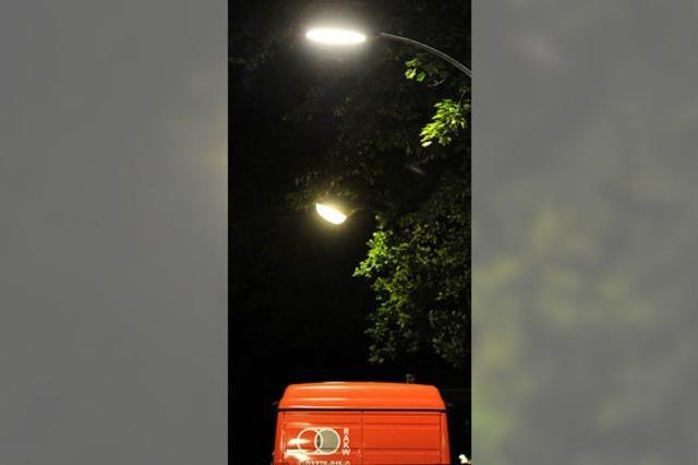 Elektro- statt Gasbeleuchtung in Berlin