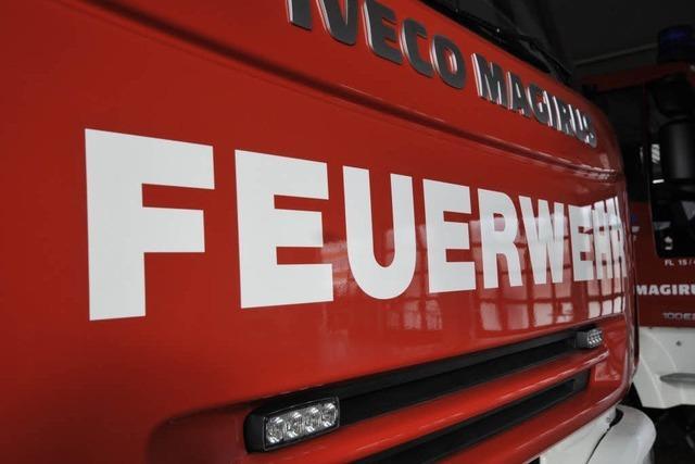 Feuer in Sportgaststätte - vermutlich Brandstiftung
