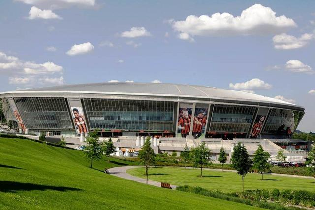 Donezk: Vom Kohlebergwerk ins Fußballstadion