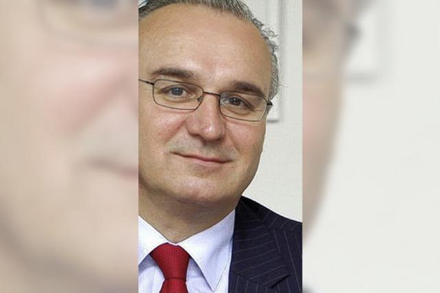Thomas Ruff, Vorstandsmitglied der Lahrer Volksbank