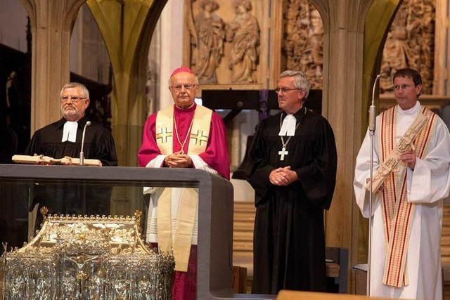 Bischöfe feierten in Breisach ökumenischen Gottesdienst