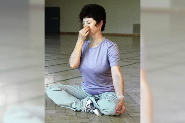 Hatha-Yoga bei der TSG