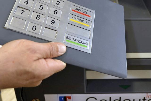 EC-Kartendaten abgefischt