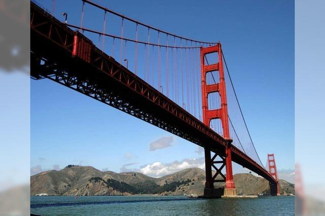 Die Golden Gate Bridge wird 75
