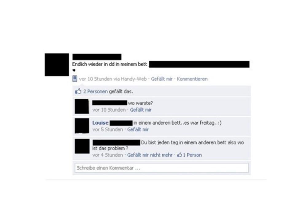 Facebook - beschämend bis lustig  | Foto: IDG