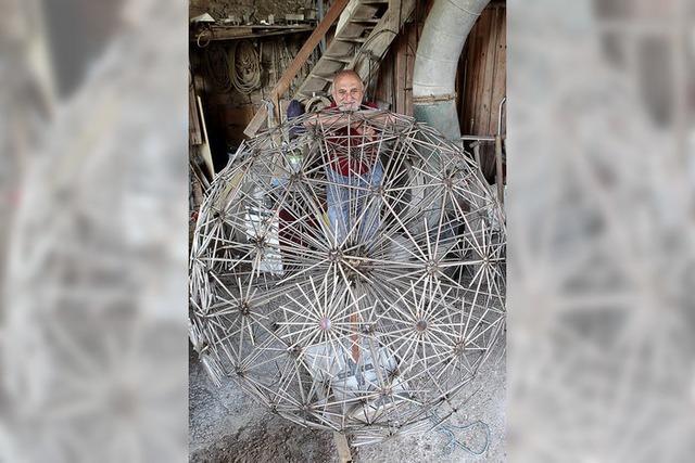 Walter Henninger plant einen Skulpturenweg in Neuried