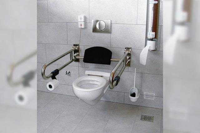 Toiletten sind jetzt fertig