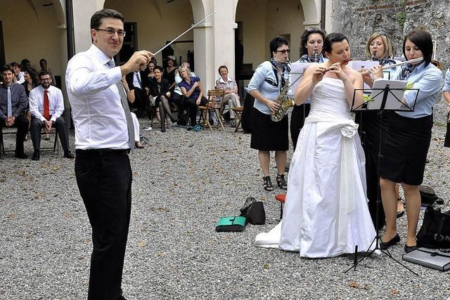 Hochzeitsfest in Italien