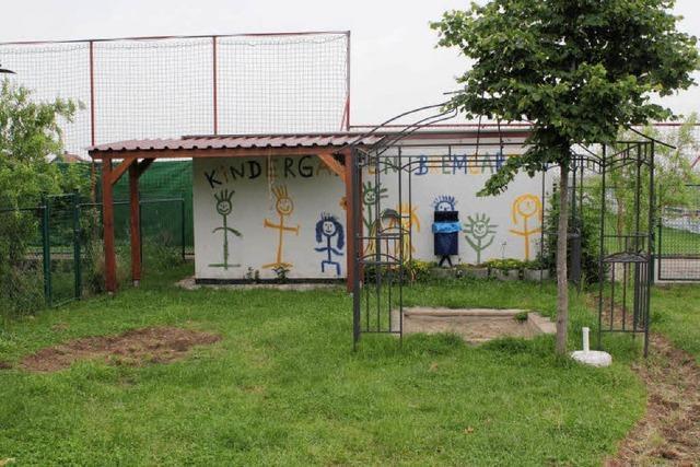 Naturspielraum für den Kindergarten in Bremgarten