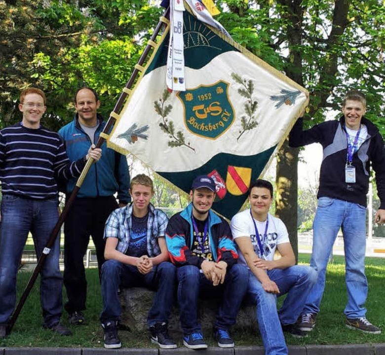 Ein fünfköpfiges Leichtathletikteam de...hm am Landesturnfest in Heilbronn teil  | Foto: PRIVAT