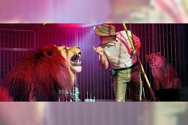 Mit dem König der Tiere