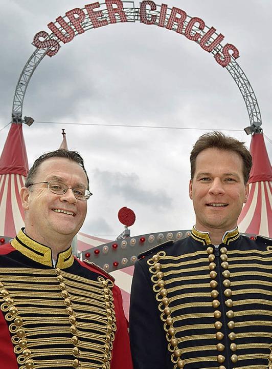 Zirkusmacher: Uwe Gehrmann (l.) und Sascha Melnjak.   | Foto: PR