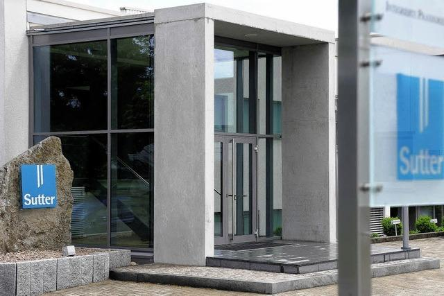 Medizintechnikfirma Sutter plant Erweiterungsbau