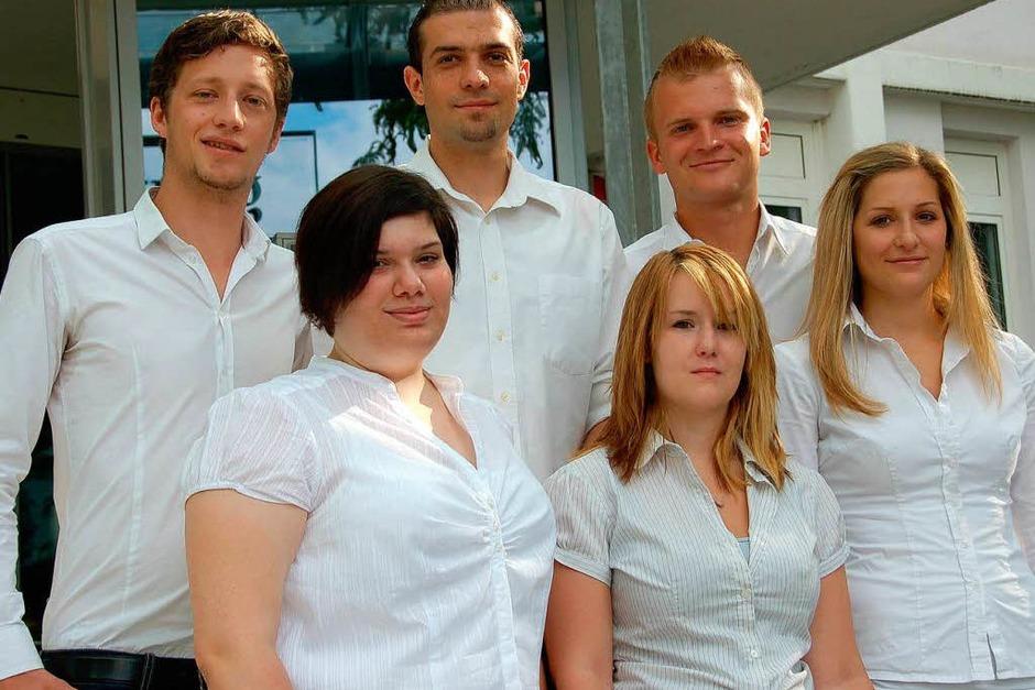 Felix, Katharina, Patrick, Jessica, Christoph und Sarah (Foto: Sandra Schlenker)