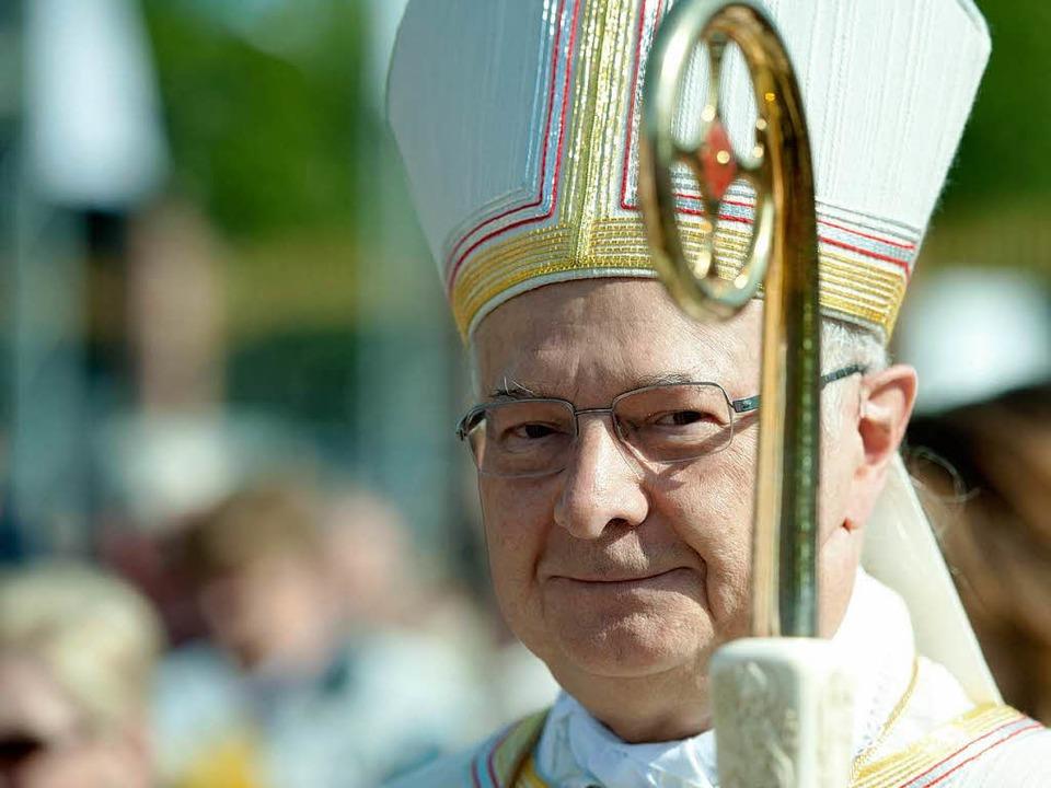 Freiburgs Erzbischof Zollitsch.  | Foto: dapd