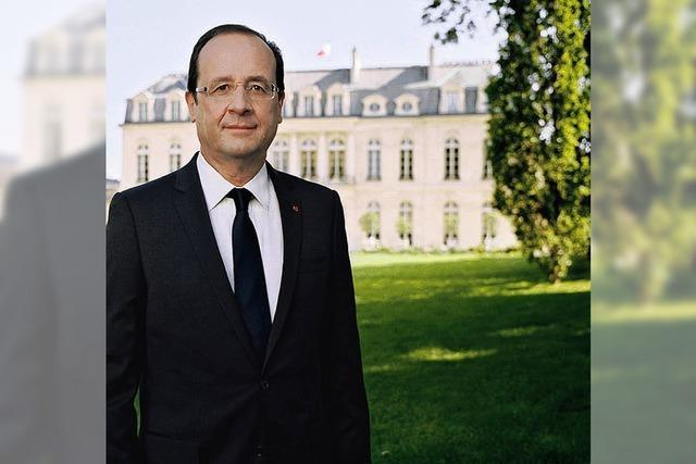 GRENZGÄNGER: Der Präsident auf der Wiese