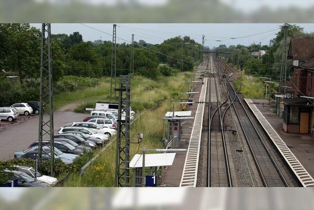 Bahnhof Orschweier: 80 Parkplätze sind möglich