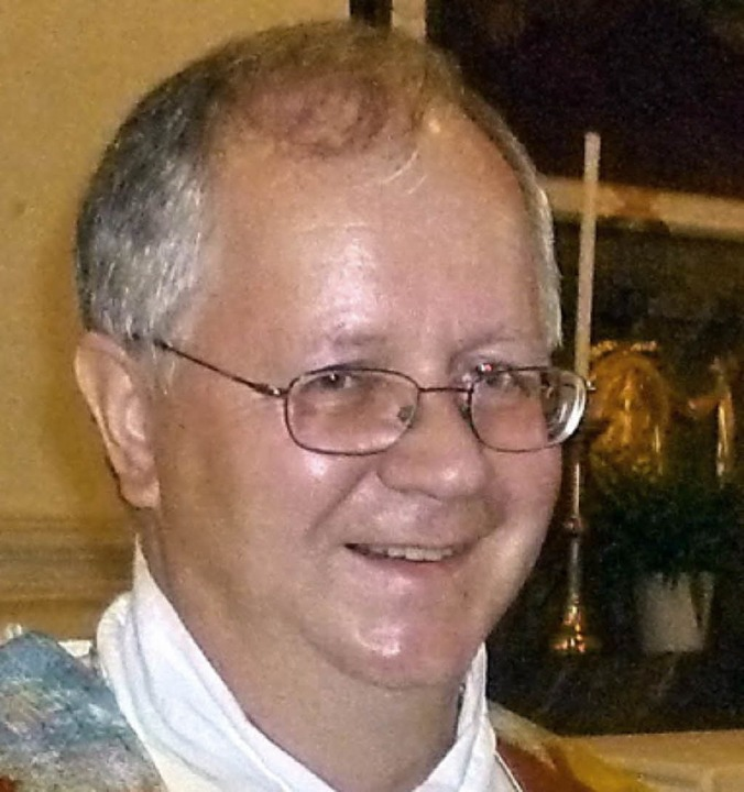 Pfarrer Anton Frank     Foto: Claudia Gempp