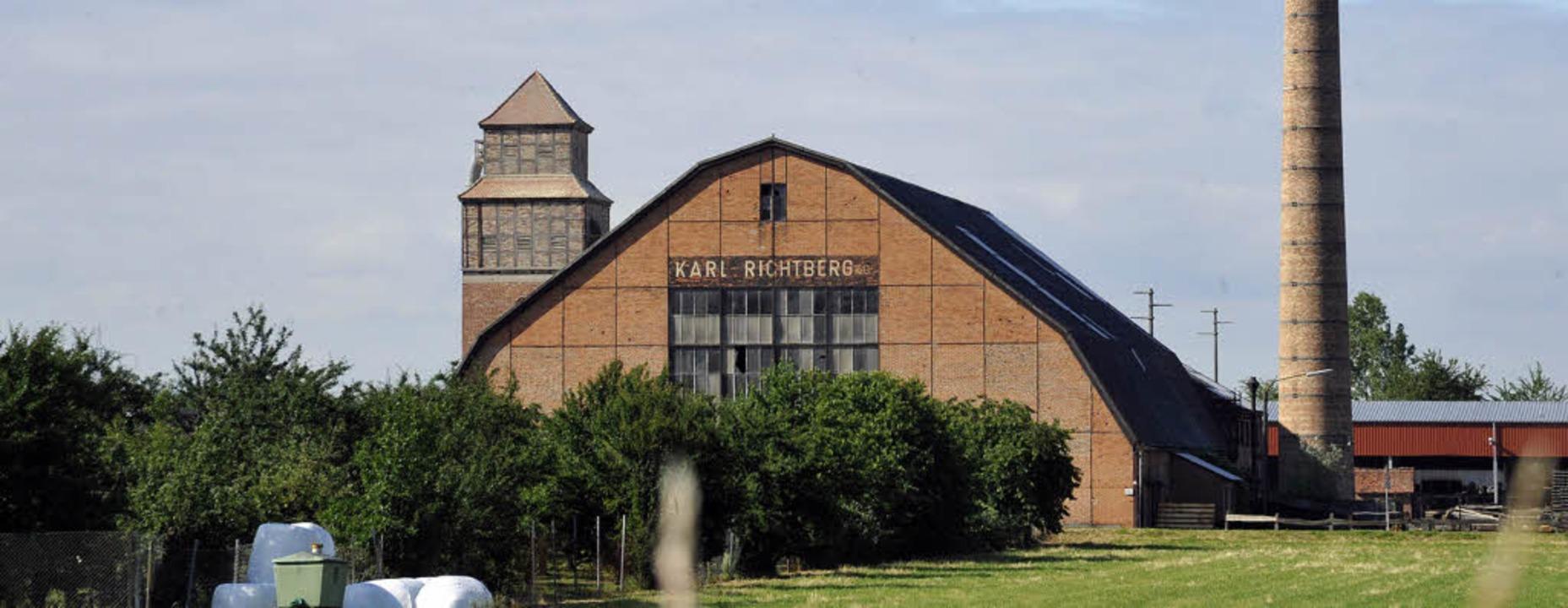 Die Schwellenfabrik Karl Richtberg   | Foto: Volker Münch