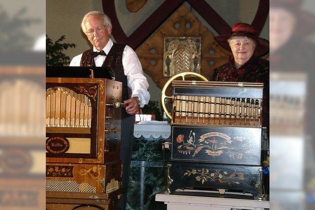 Konzert für Chor, Drehorgel und singende Säge