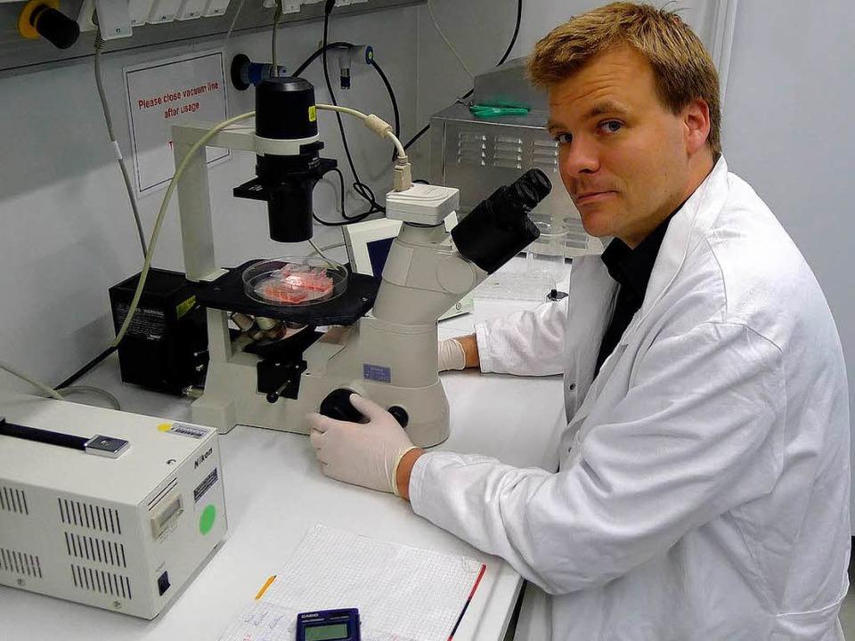 Tilman Brummer von der Universität Freiburg  | Foto: Brendler