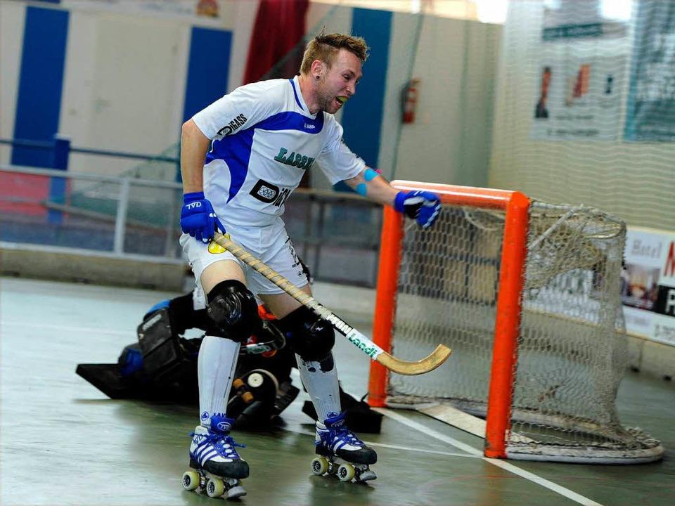 Schweizer Meisterschaften im Rollhockey: RSV Weil kämpft sich ins Finale.    Foto: Meinrad Schön
