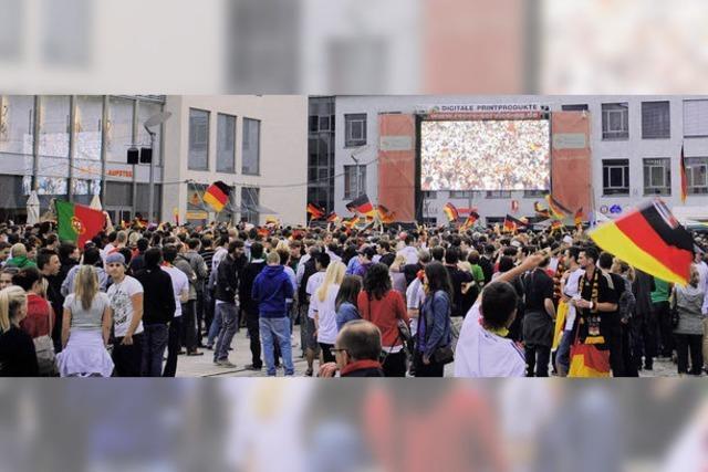 """5500 Zuschauer auf dem Marktplatz: """"Super Platz, schöne Atmosphäre"""""""