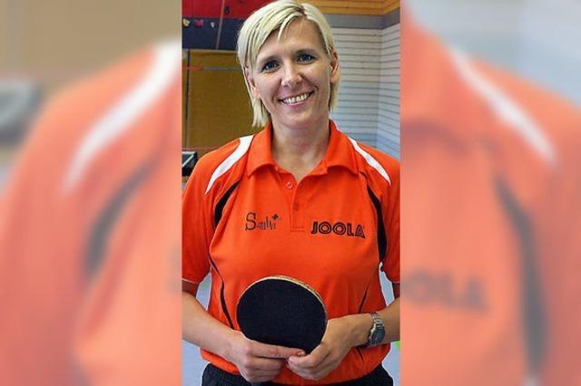Elena Lamonos ist Handlungsreisende in Sachen Tischtennis