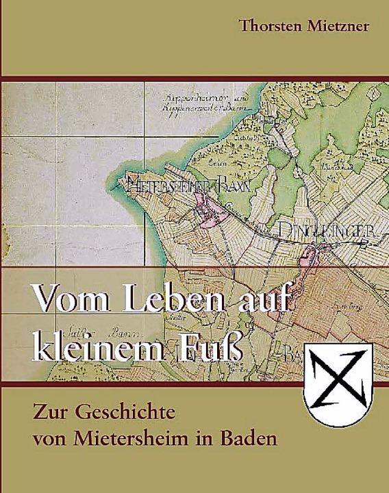 Am Donnerstag im Handel:  Thorsten Mietzners Mietersheimer Dorfgeschichte   | Foto: REPRO: PBS