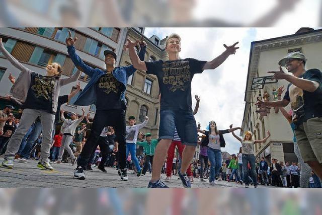 SAK-Tanzcamp: Ein Hauch von Bronx in der Lerchenstadt