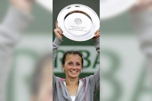 Annika Beck gewinnt Juniorinnen-Turnier in Paris